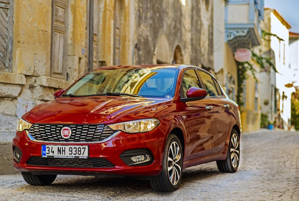 Fiat Egea Turkey October 2015