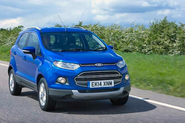 Ford Ecosport Philippines 2015. Picture courtesy autoexpress.co.uk