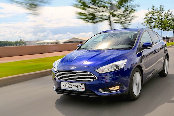 Ford Focus Russia April 2016. Picture courtesy zr.ru