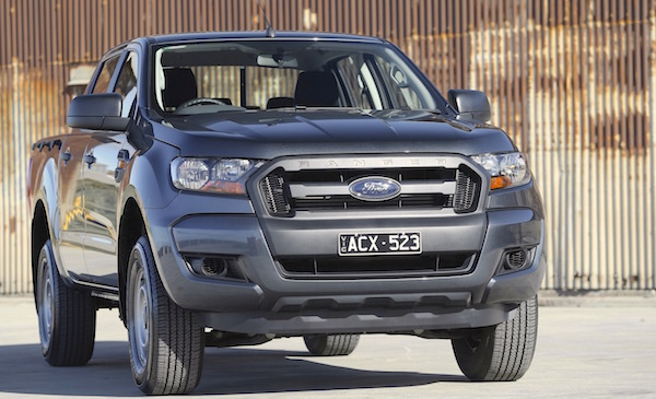 Ford Ranger Vietnam October 2015. Picture courtesy caradvice.com.au