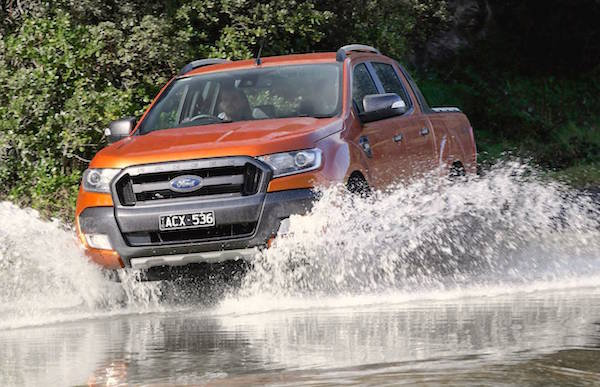 Ford Ranger South Africa October 2015. Picture courtesy performancedrive.com.au