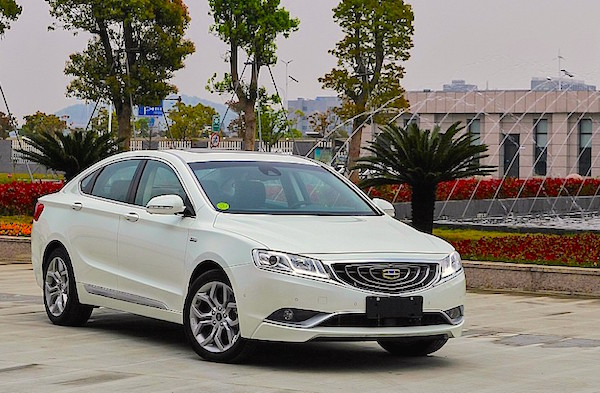 Geely GC9 Russia October 2015. Picture courtesy zr.ru