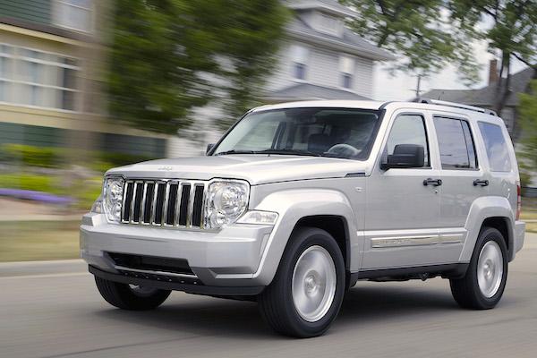Jeep Cherokee Venezuela October 2015