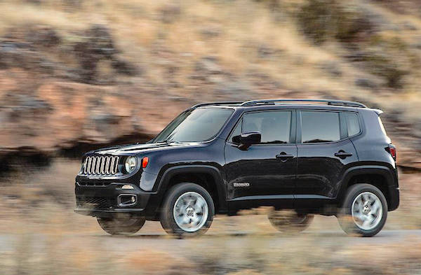 Jeep Renegade Brazil October 2015