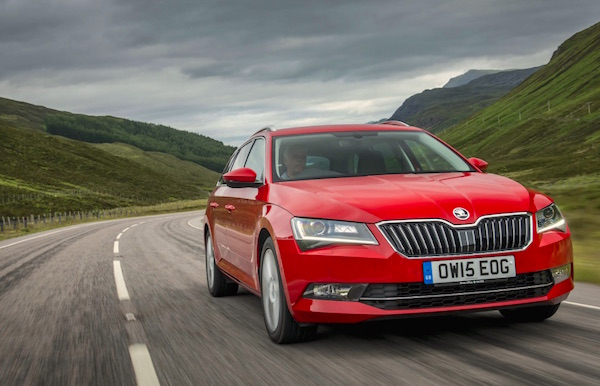 Skoda Superb Czech Republic June 2016