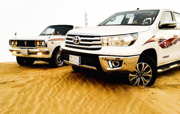 Toyota Hilux Saudi Arabia September 2015. Picture courtesy Toyota Flickr