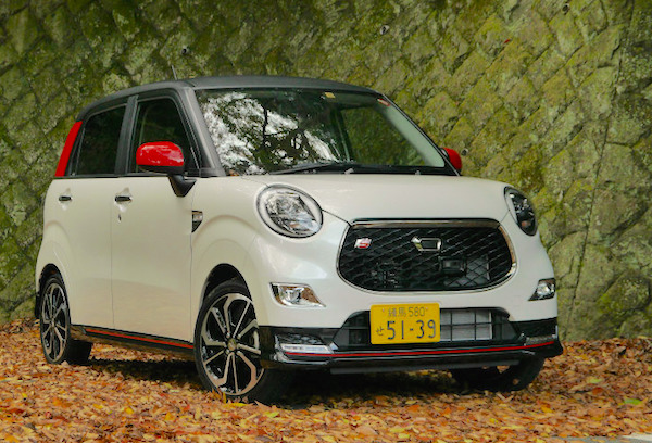 Daihatsu Cast Japan November 2015. Picture courtesy response.jp