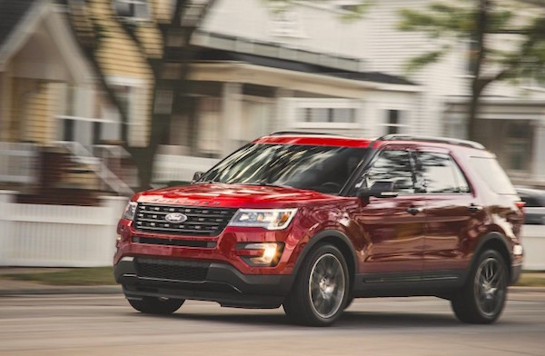 Ford Explorer Venezuela June 2016. Picture courtesy caranddriver.com