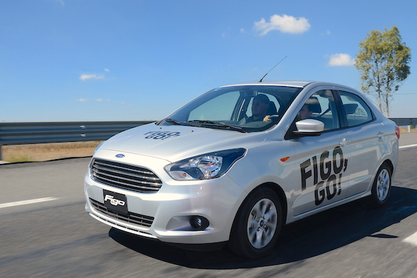 Ford Figo Mexico November 2015. Picture courtesy panoramaautomotriz.com.mx