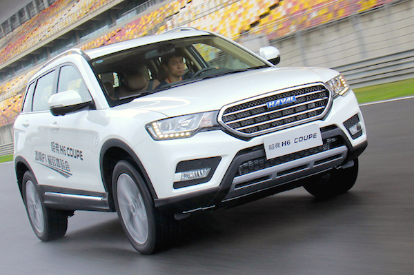 Haval H6 Coupe China November 2015
