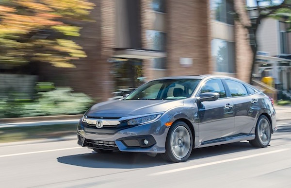Honda Civic USA April 2016. Picture courtesy caranddriver.com