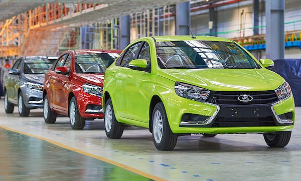 Lada Vesta Production