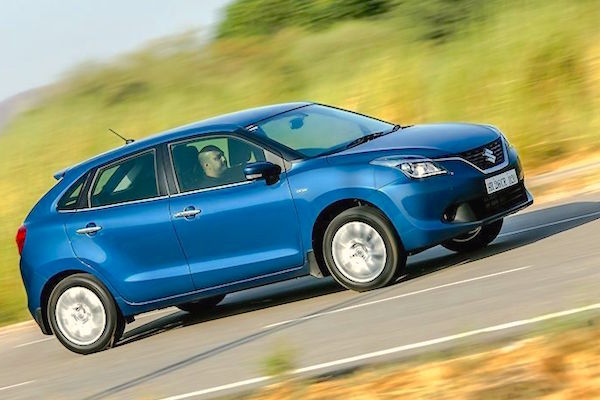 Maruti Baleno India November 2015. Picture courtesy zigwheels.com