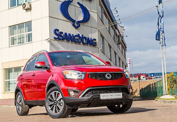 Ssangyong Actyon Russia November 2015. Picture courtesy zr.ru