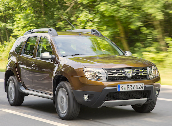 Dacia Duster Bulgaria January 2016