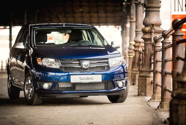 Dacia Sandero France December 2015
