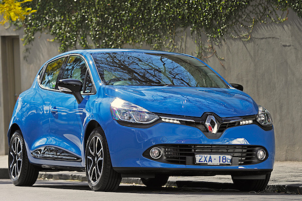 Renault Clio Slovenia January 2016