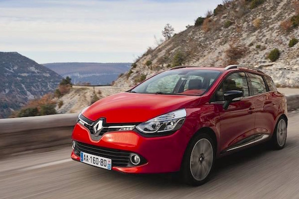 Renault Clio Bosnia & Herzegovina March 2016