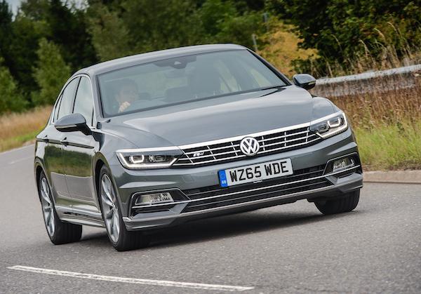 VW Passat Europe 2015