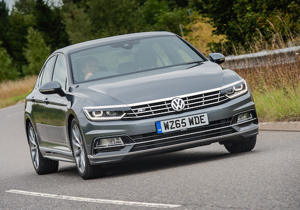 VW Passat Macedonia April 2016