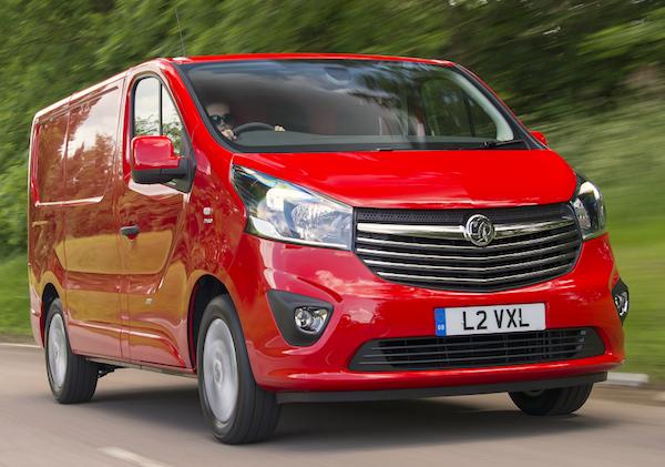 Vauxhall Vivaro UK 2015