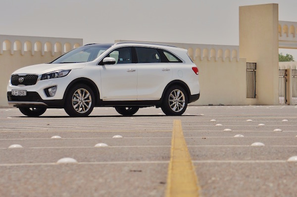 Kia Sorento Iraq 2015. Picture courtesy drivearabia.com