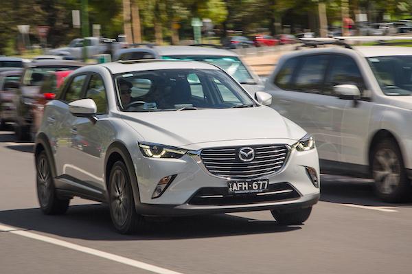 Mazda CX-3 Australia January 2016. Picture courtesy caradvice.com.au