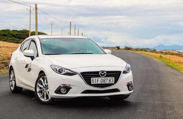 Mazda3 Vietnam 2015. Picture courtesy thanhniennews.com