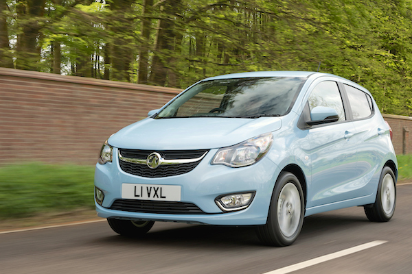 Vauxhall Viva UK January 2016