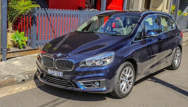 BMW 2 Series Active Tourer Australia February 2016. Picture courtesy caradvice.com.au