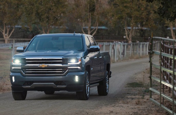 Chevrolet Silverado USA 2015. Picture courtesy caranddriver.com