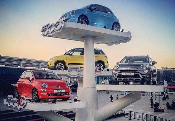 Fiat 500 Family Italy February 2016