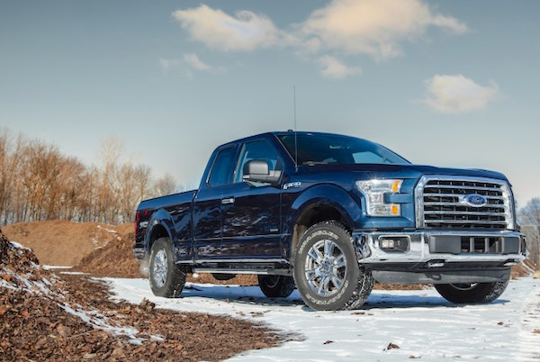 Ford F-150 USA February 2016. Picture courtesy caranddriver.com