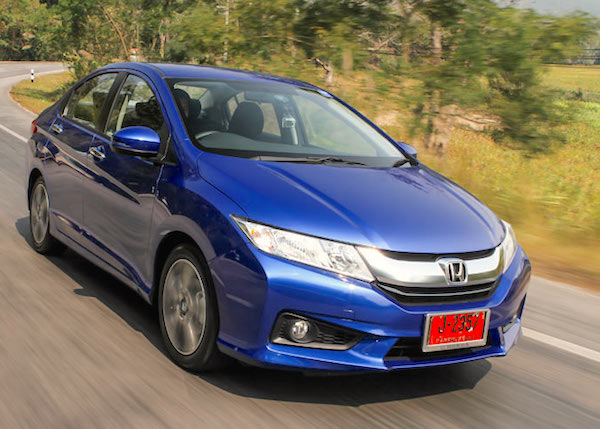 Honda City Thailand January 2016