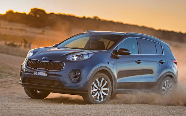 Kia Sportage UK March 2016