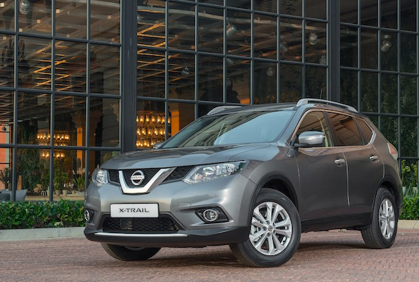 Nissan X-Trail Japan February 2016