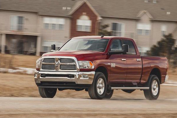 Ram 2500 USA February 2016. Picture courtesy caranddriver.com