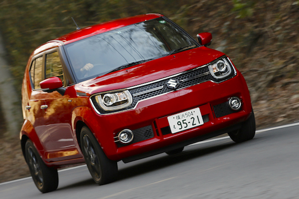Suzuki Ignis Japan February 2016. Picture courtesy autoc-one.jp