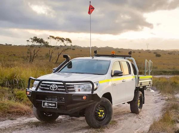 Toyota Hilux Australia 2015