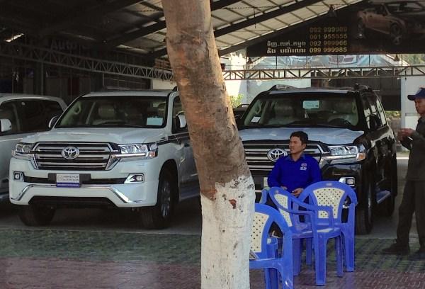 8. Toyota Land Cruiser Phnom Penh