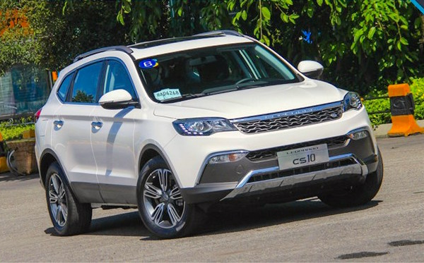 Changfeng Leopaard CS10 China March 2016. Picture courtesy jingyannet.com