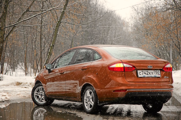 Ford Fiesta Russia March 2016. Picture courtesy zr.ru