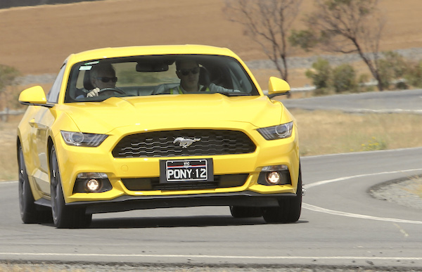 Ford Mustang Australia February 2016. Picture courtesy caradvice.com.au