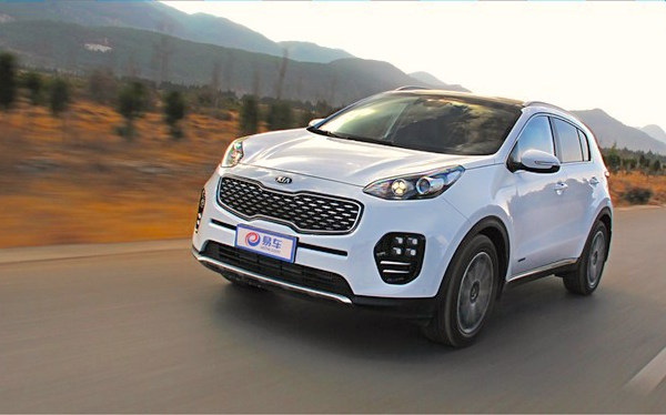 Kia KX5 China March 2016. Picture courtesy car.bitauto.com