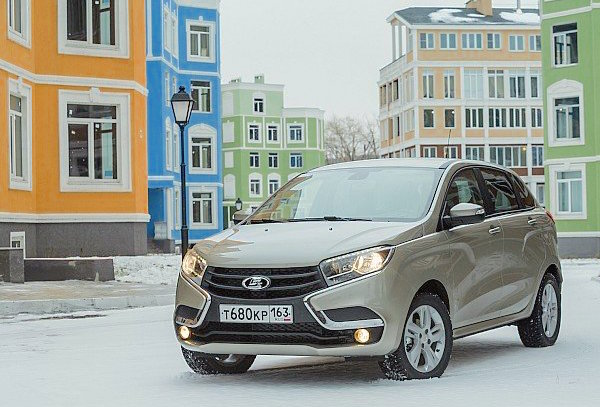 Lada X-Ray Russia February 2016. Picture courtesy zr.ru