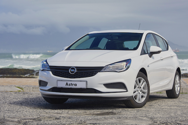 Opel Astra Europe March 2016