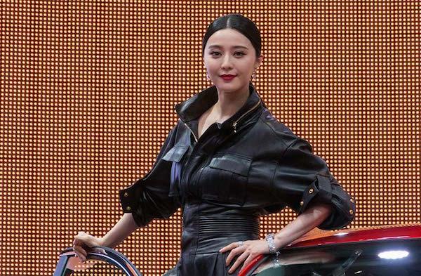 Renault Fan Bingbing Chinadaily.com.cn