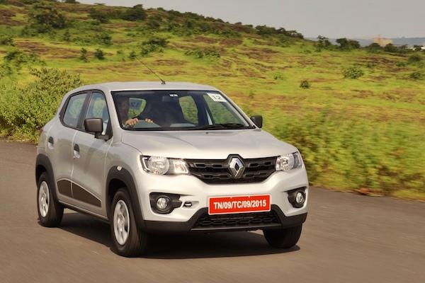 Renault Kwid India March 2016