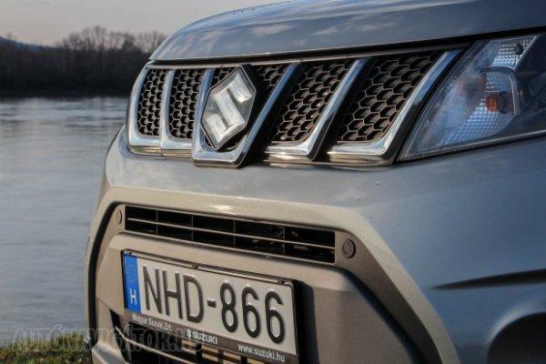 Suzuki Vitara Hungary March 2016. Picture courtesy autonavigator.hu