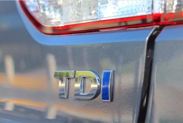 VW TDI range